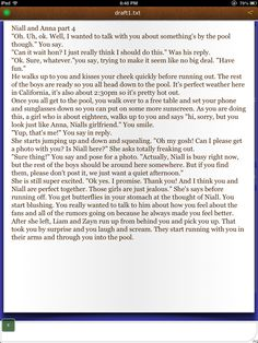 Niall and Anna part 4! Niall Horan fanfic