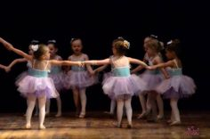 Little Ballerina Girls