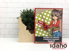 Becky Roberts, Love Days, Rubber Stamping, Brighten Your Day, Copic, Idaho, Happy Holidays, Coloring Pages, Craft Projects