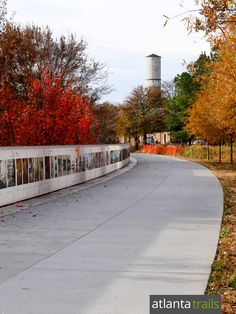 Run, walk or bike the Atlanta BeltLine Eastside Trail from Piedmont Park to Ponce City Market