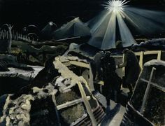 The Ypres Salient at Night, 1918, by Paul Nash. Imperial War Museums