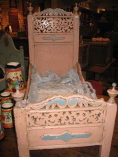 great victorian doll bed