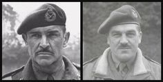 We thought that it would be interesting to show some side by side comparison shots of actual historical military figures and the actors who have portrayed