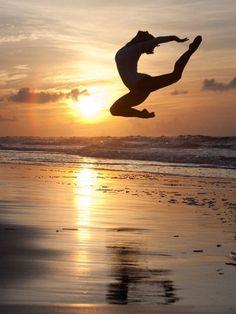Dancing on the beach ~