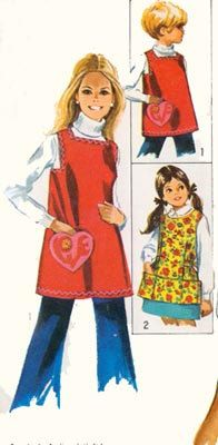 Vintage 60s Sewing Pattern Simplicity 8563 Cobbler by sandritocat, $7.00