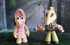 Barbara & Adam Maitland - Beetlejuice - Mystery Minis - Funko Horror Classics Series 3