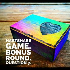 Play the hARTshare Game! 20 days, 20 questions.