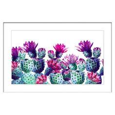 Dancing Pineapples Framed Painting Print