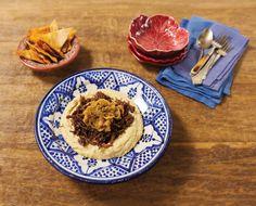 Carne com homus | Receita Panelinha: Quem disse que homus é só aperitivo? Nesta…