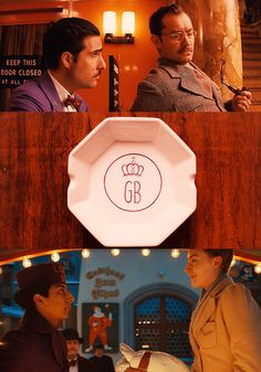 """""""The Grand Budapest Hotel"""" I need an ashtray like this! La Famille Tenenbaum, Wes Anderson Movies, Grand Budapest Hotel, Film Strip, Photo Style, Wales, Movie Tv, Sci Fi, Cinema"""