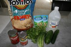 Cucumber salsa. A new way to use all the cucumbers from the garden!