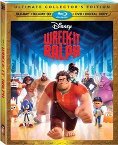 Wreck-it Ralph on DVD #DisneyOZEvent