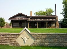 Western artist, Charley Russell art studio in Great Falls Montana