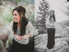 Senior Shoot || Elisabeth Eden + Denver, Colorado