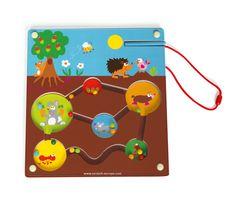 Labyrinth Magnetisch Tuin - Scratch Europe - Baby Speelgoed, Kinder- en gezelschapsspellen -