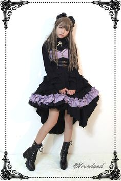 Neverland Lolita -Blazing Angels- Lolita Corset Jumper Dress