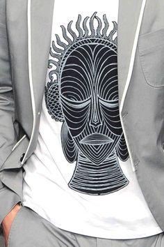 patternprints journal it: STAMPE E PATTERNS DALLE SFILATE DI MILANO MODA UOMO S/S 2014 /     John Richmond