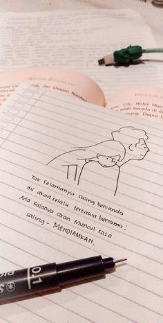 Quotes Rindu, Text Quotes, Tumblr Quotes, Short Quotes, Mood Quotes, Daily Quotes, Life Quotes, Qoutes, Cinta Quotes