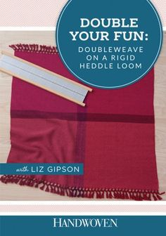 Discover books for rigid heddle weavers ideas on pinterest loom double your fun doubleweave on a rigid heddle loom video download fandeluxe Image collections