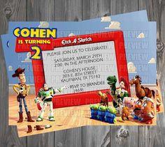 Toy Story Invitation by EmiJaiDesigns on Etsy