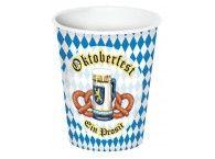 Oktoberfest Paper Beverage Cups Pack of 8