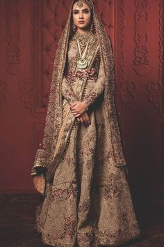 Dec 2019 - Fahad Hussayn Latest Pakistani Designer Bridal Dresses 2019 Designs Collection consists of heavenly embroidered lehengas, gowns, maxis, frocks, Bridal Dresses 2018, Desi Wedding Dresses, Pakistani Wedding Outfits, Indian Bridal Outfits, Indian Dresses, Bridal Gown, Indian Bridal Lehenga, Pakistani Bridal Wear, Pakistani Wedding Dresses