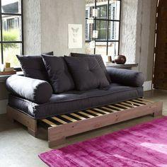 Zitbank/bed, 2 of 3 plaatsen Sahel La Redoute Interieurs