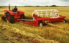 IH Pull-Type Windrower