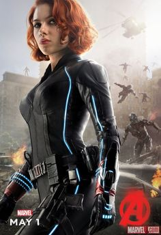 Black Widow looks totally badass! Nick and Thor... exactly as you'd expect. Still badass though.