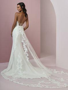 Rebecca Ingram Wedding DressBILLIE 8RC710 Back