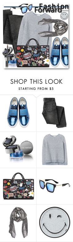 """""""Fashion Forward Fun"""" by brendariley-1 ❤ liked on Polyvore featuring Acne Studios, Lise Watier, Rebecca Taylor, Anya Hindmarch, Cutuli Cult, Chantecaille, women's clothing, women, female and woman"""