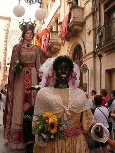 Valls Sant Joan  Festa  amb Gegants