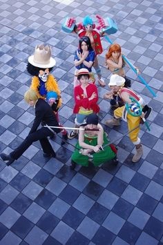 One Piece Cosplay Mugiwara Crew Epic Cosplay, Cosplay Dress, Cosplay Outfits, Awesome Cosplay, Anime Cosplay, Anime Costumes, Cosplay Costumes, The Familiar Of Zero, Fictional Heroes
