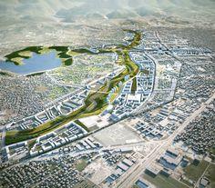 Building Tirana's Green Future: Tirana Northern Boulevard and River Project / Cino Zucchi Architetti