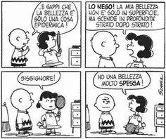 Peanuts, Charlie Brown e Lucy Peanuts Cartoon, Peanuts Snoopy, Snoopy Comics, Funny Comics, I Love Lucy, My Love, Lucy Van Pelt, Charlie Brown Peanuts, Old Cartoons