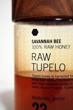Savannah Bee Honey by Work, via Behance