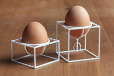 Egg holder No1 and No2, 3D printing, perfect Easter gift! Designed by MALINKO Design, Marta Cherednik