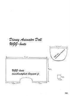 patterns for Disney Animator dolls - Google Search