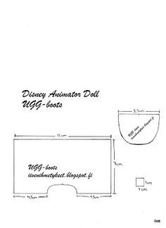 patterns for Disney Animator dolls - Google Search
