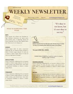 weekly bulletin template 1000 images about church newsletter on pinterest