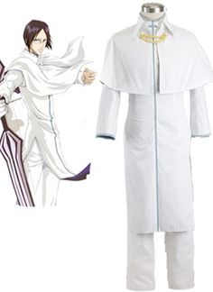 Camplayco Bleach Ishida Uryuu Cosplay Costume-made >>> You can get more details by clicking on the image.