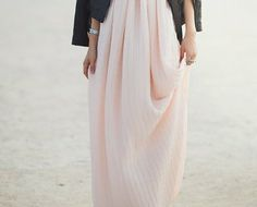 Pleated Maxi Dress #weomen's dress #fashion #beautiful #sexy