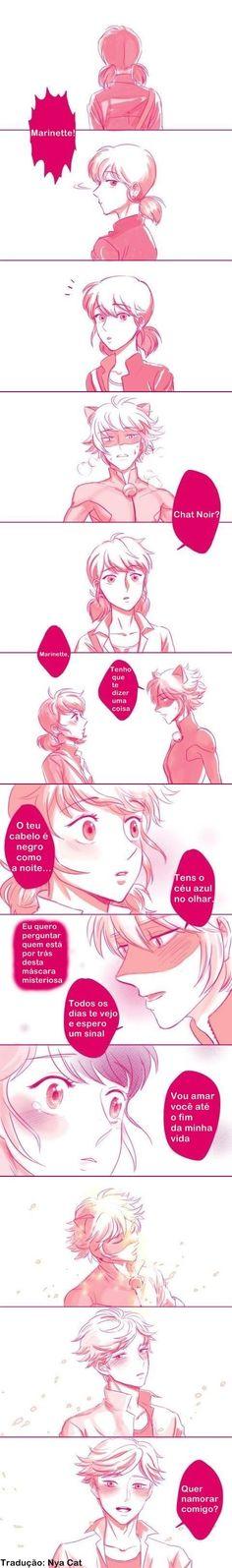 Miraculous - Marinette e Chat Noir/Adrien Nya Cat, Anime Vs Cartoon, Miraculous Ladybug Memes, Cat Noir, Ladybug Comics, Romances, Mlb, Geek Stuff, Fan Art