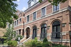 Chicago brick homes, Milbury Architects, Ltd.