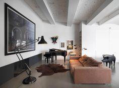 Photographer's Loft - Picture gallery #architecture #interiordesign #livingroom