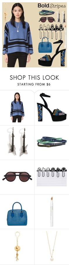 """Bold stripes fashion"" by gadinarmada-1 ❤ liked on Polyvore featuring 10 Crosby Derek Lam, Giuseppe Zanotti, Lynn Ban, Under Armour, STELLA McCARTNEY, Peace Love World, Jouer, Louis Vuitton, ZoÃ« Chicco and vintage"