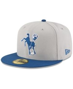 NEW ERA NEW ERA INDIANAPOLIS COLTS TEAM BASIC 59FIFTY FITTED CAP.  newera    Fitted 63fcd29f1075