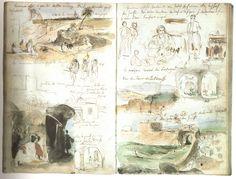Eugène Delacroix (1798-1863) – Carnet de voyage au Maroc (1832)
