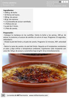Las mejores recetas de mi thermomix por Montserrat Reyes Deli Food, Food N, Cake Recipes, Dessert Recipes, Types Of Desserts, Kitchen Recipes, Cakes And More, Flan, Macarons