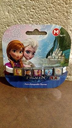 Roxo Disney Glitter Frozen 5 Charm Band - Medium (7 inches) ** See this great product @…